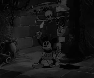 gif, disney, and mickey mouse image