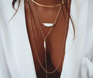 accessories, necklaces, and style image