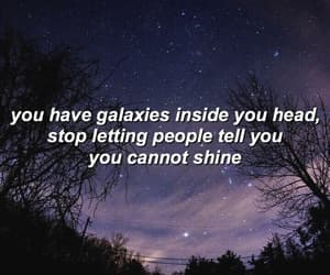 quotes, shine, and stars image