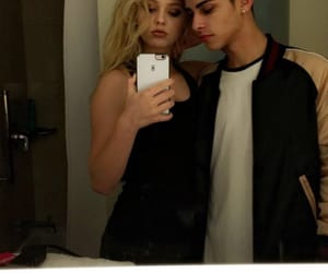 couple, cute, and loren gray image