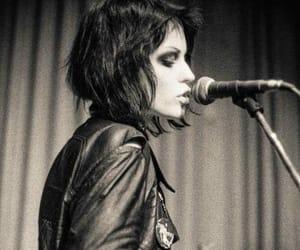 black and white, joan jett, and music image