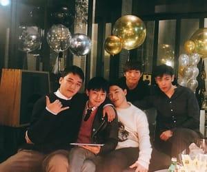 seungri, taeyang, and bigbang image