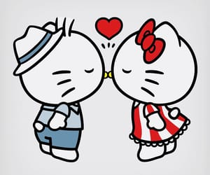 hello kitty, dear daniel, and sanrio image