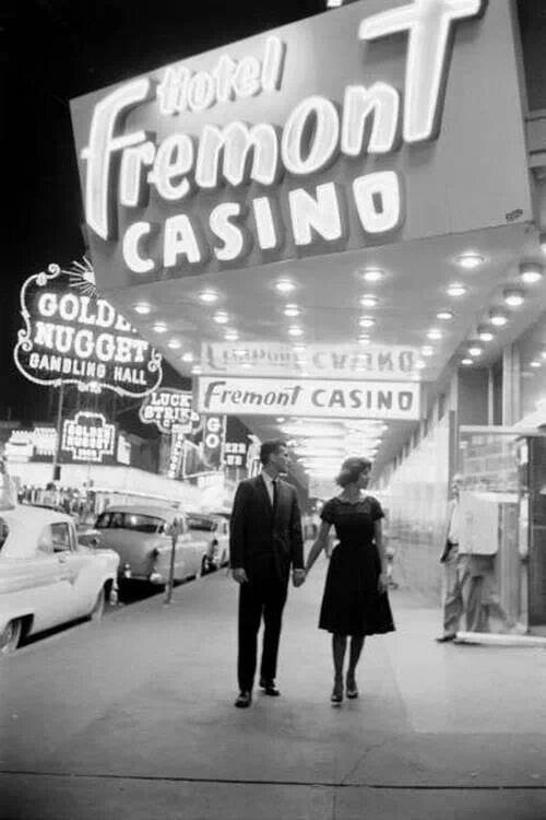 casino, couple, and vintage image