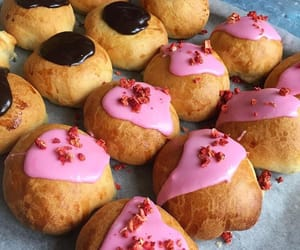 baked goods, delicious, and raspberry image