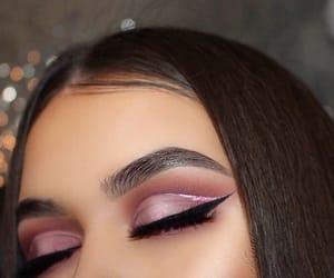 beautiful, eye liner, and eyes image
