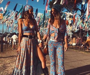 fashion, festival, and friendship image
