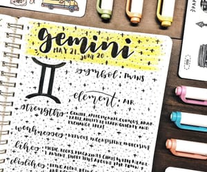 art, lettering, and planner image