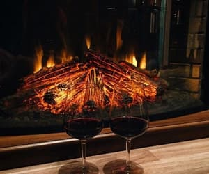 wine, drink, and winter image