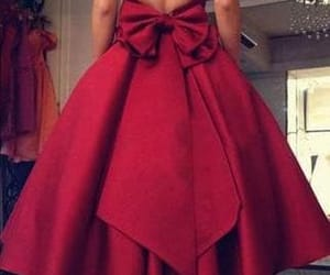 party dress, red dress, and short semi formal dress image