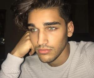 boy, eyes, and hot boy image