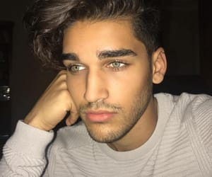 hot boy, eyes eyebrows brows, and site model models image