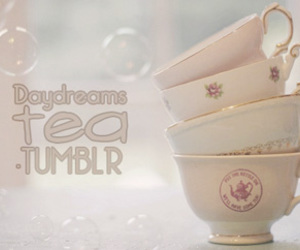 bubbles, cups, and tea image