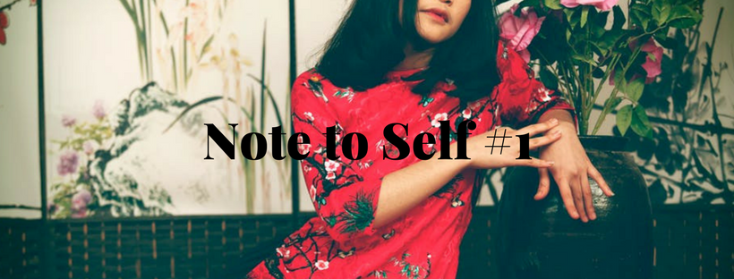 article, note to self, and empowerment image