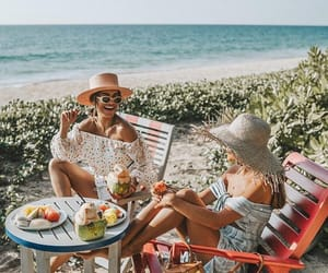 beach, girly, and friends image