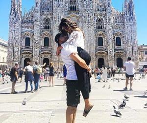 couple, kiss, and milan image