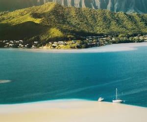 beach, hawaii, and vacation image