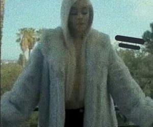 blonde, boca, and fur coat image