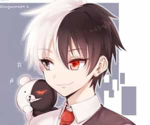monokuma, anime, and danganronpa image