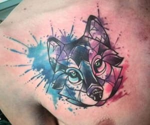 animals, art, and ink image