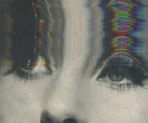 eyes, grunge, and black and white image