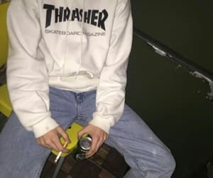thrasher, grunge, and boy image