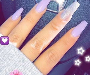nails, cyberghetto, and purpletheme image