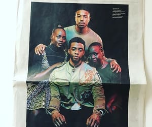 black panther, NY Times, and Marvel image