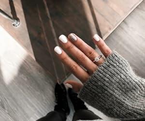 girl, nails, and fashion image