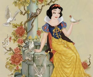 art, snow white, and disney image