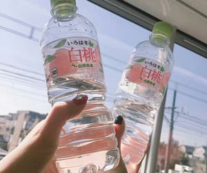 water, aesthetic, and peach image