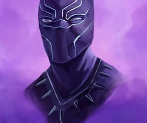 black panther and fanart image