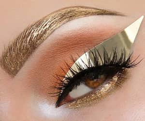 eyebrows, fashion, and trend image