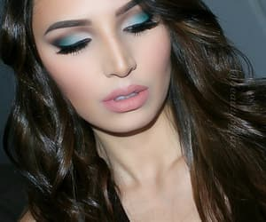 fashion, eyemakeup, and makeup image