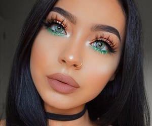 girls, make, and makeup image