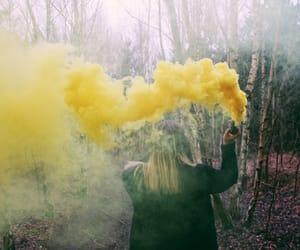 colour, smoke, and yellow image