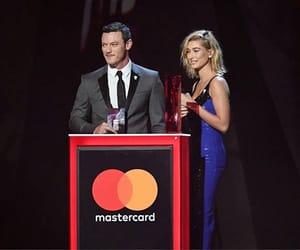 new, hailey baldwin, and brits awards 2018 image
