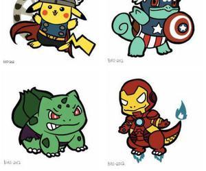 pokemon, pikachu, and Hulk image