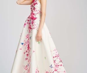 long dresses, Monique Lhuillier, and haute couture gowns image