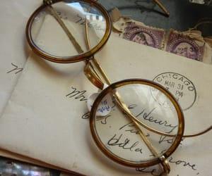 glasses, tumblr, and vintage image