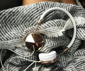 headphones, frends, and cozy image
