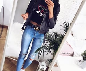 clothes, fashion, and guess image