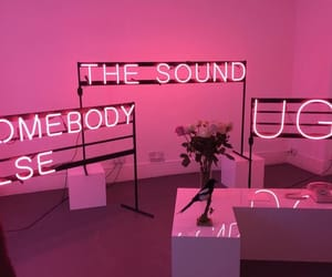 pink, somebody else, and the sound image