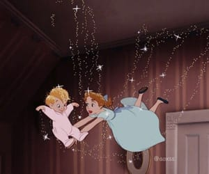 peter pan, disney, and movie image