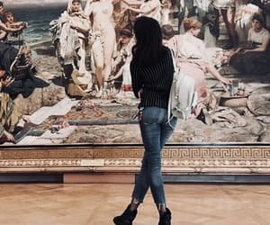 art, fashion, and museum image