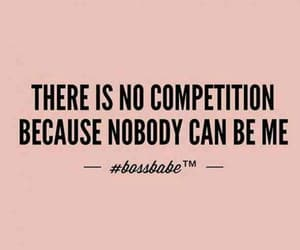 quotes, woman, and competition image