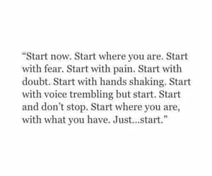 quotes, start, and motivation image