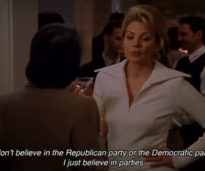 sex and the city, samantha jones, and party image