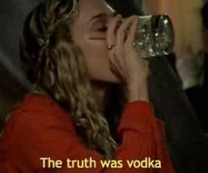 vodka, sex and the city, and quotes image