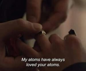 atoms, love, and couple image